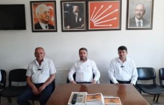 CHP'nin Doğanşehir'deki Belediye Başkan Adayı...