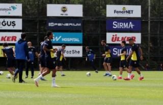 Fenerbahçe'de YMS Maçının Hazırlıkları...