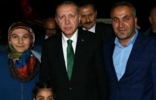 Malatya AK Parti Kadın Kolları Başkanı Kibar Aslan...