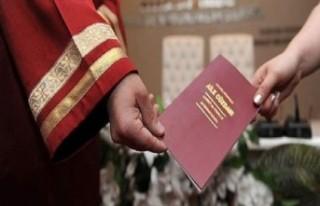Nikahlarda yapılacak yeni kurallar açıklandı
