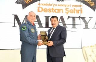 Albay Hasan Hüseyin Kanbur'dan Başkan Gürkan'a...