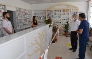 Başkan Çınar, Kiltepe'de İncelemelerde Bulundu