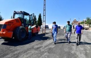 Başkan Çınar, Melekbaba mahallesinde devam eden...