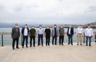 Başkan Gürkan, Ordu'da Malatya'ya yapılan...