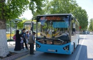 Başkan Gürkan: Toplu Taşıma Araçları Bayram...