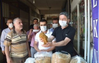 Başkan Kiraz'dan Tütüncülere Destek
