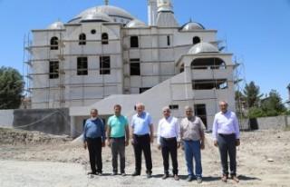 Battalgazi Alacakapı Merkez Cami İbadete Açılmak...