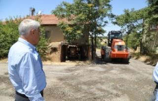 Battalgazi'de Yol Yenileme Çalışmaları Sürüyor