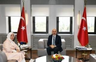 Çalık, Ulaştırma Bakanı Karaismailoğlu'na...