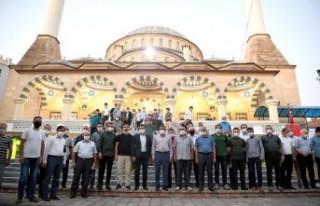 Malatya'da Ayasofya için şükür namazı kılındı
