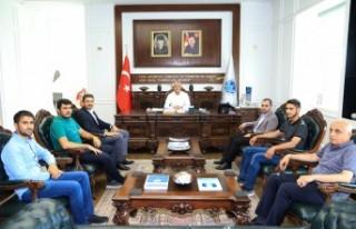 MTTB'den Başkan Güder'e Ziyaret