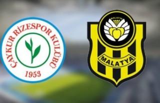 Yeni Malatyaspor Rize'de Yıkıldı... 3-0
