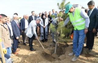 """""""Yeşilyurt Park ve Yeşil Alanlarıyla Daha Mutlu"""
