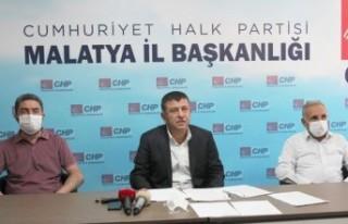 Ağbaba basın toplantısında Malatya'yı değerlendirdi
