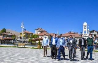 Başkan Gürkan, Doğanşehir'de İncelemelerde...