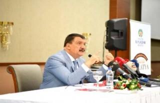 Başkan Gürkan,'Malatya Ve Malatyaspor Sevdalılarıyız'