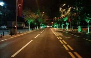 Büyükşehir Caddeleri Yenilemeye Devam Ediyor