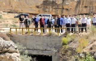 Çalık: 'Ansur Göletiyle Yazıhan'da 18 bin...