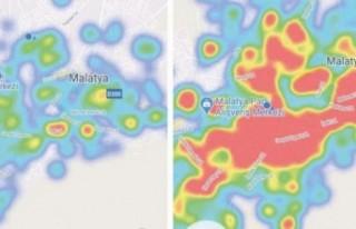 Malatya'nın Korona Haritası Korkutuyor