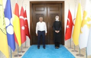 Milletvekili Yıldız'dan Başkan Güder'e Ziyaret