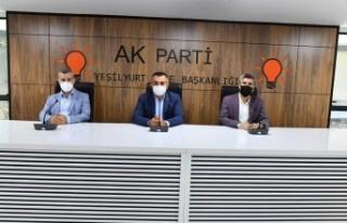 AK Parti Yeşilyurt İlçe 7.Olağan Kongresi 13 Eylül...