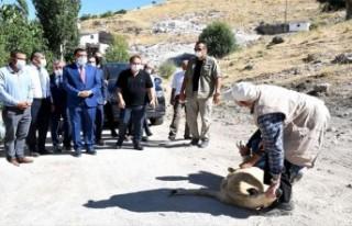 Başkan Gürkan, Hekimhan'da Coşkuyla Karşılandı