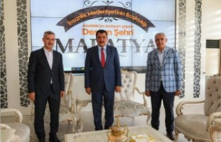Başkan Gürkan Merkez İlçe Belediye Başkanları...