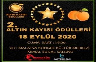Baştürk Cam 2.Altın Kayısı Ödülleri 18 Eylül'de
