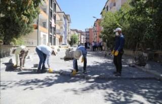 Battalgazi'de Cadde Ve Sokaklar Yenileniyor