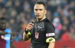 Fatih Karagümrük-Yeni Malatyaspor maçının hakemi...