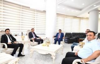 Gevrek, Başkan Gürkan'ı Ziyaret Etti