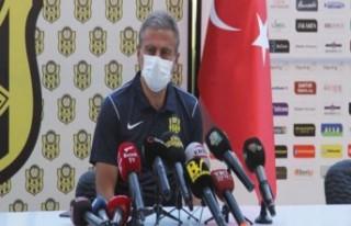 Hamzaoğlu,'Yeni Malatyaspor'u hak ettiği...