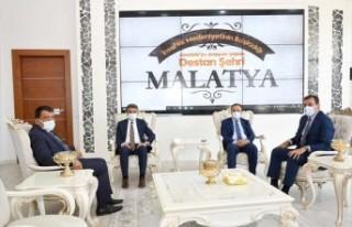 İçişleri Bakan Yardımcısı Çataklı'dan Başkan...