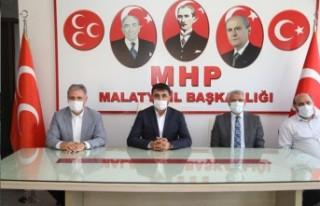 Milletvekili Çakır Ve Başkan Güder'den Mhp İl...