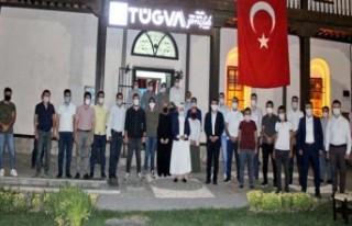 Milletvekili Çalık: TÜGVA'lı Gençlerle Buluştu