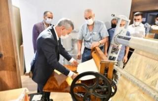'Tekstil Müzemiz, Dokumacılık Mesleğinin...