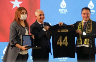 Babacan, DEVA Partisi Malatya İl kongresine katıldı
