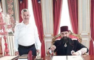 Başkan Çınar, Payitaht-Abdulhamid' Dizi Setini...