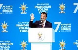 Başkan Gürkan Ak Parti Kongresinde Konuştu: