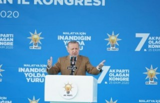 Erdoğan Malatya'da