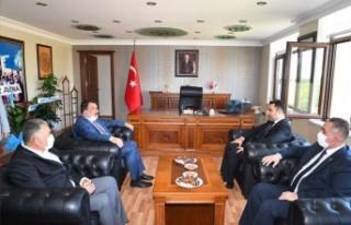 Gürkan, Kale Kaymakamı'nı Ziyaret Etti
