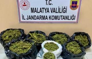 Malatya'da Feribot İle Uyuşturucu Sevkiyatı