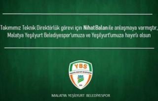 Yeşilyurt Belediyespor'un Yeni Teknik Direktörü...