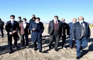 70 Bin Metrekarelik Buğday Pazar İçin Saha Çalışmaları...