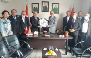 Anadolu Basın Birliği'nden Başkan Kaya'ya Ziyaret