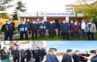 Başkan Gürkan, çalışmalarını sürdürüyor