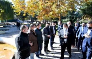 Başkan Gürkan Sümer Park Esnaflarıyla Bir Araya...