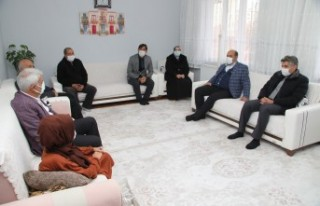 Başkan Güder, Özel Gereksinimli Ailelere Ziyaret