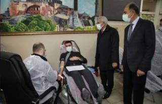 Başkan Güder'den Kampanyaya Destek Ziyaret