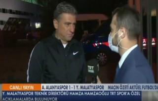 Hamza Hamzaoğlu, Alanyaspor Maçını Değerlendirdi